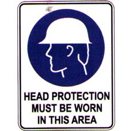 Symbol-Head-Protection-Area-Sign