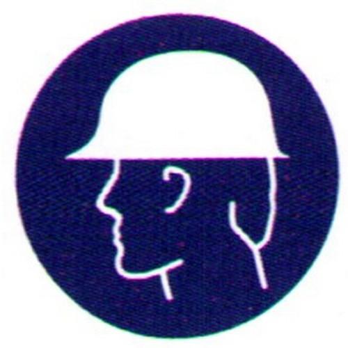 Symbol-Hard-Hat-Label