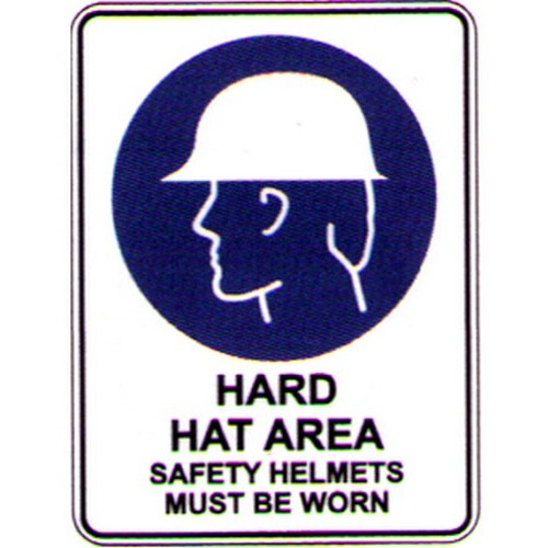 Symbol Hard Hat Area Sign