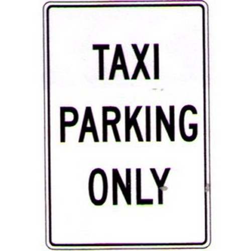 Taxi-Parking-Only-Sign