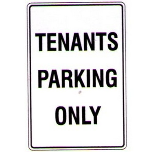 Tenants-Parking-Only-Sign