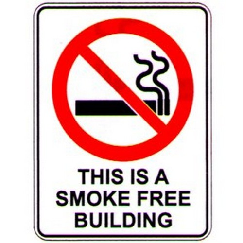 This Is A Smoke Free Building Labels