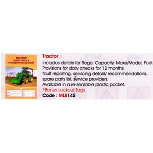 Tractor Log Book