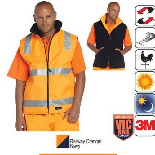 Traffic Reversible Vest