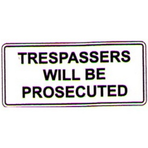 Trespassers-Prosecuted-Sign