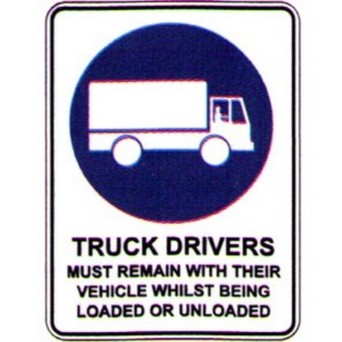 Truck-Driver-Must-Remain-Sign