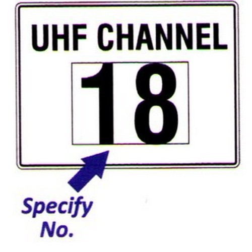 Uhf Channel With No Sign