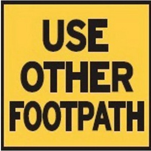 Use-Other-Footpath-Multi-Message