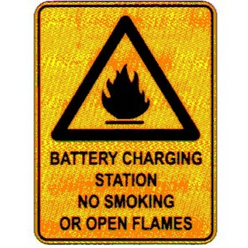Warn-Battery-Charging-Sign