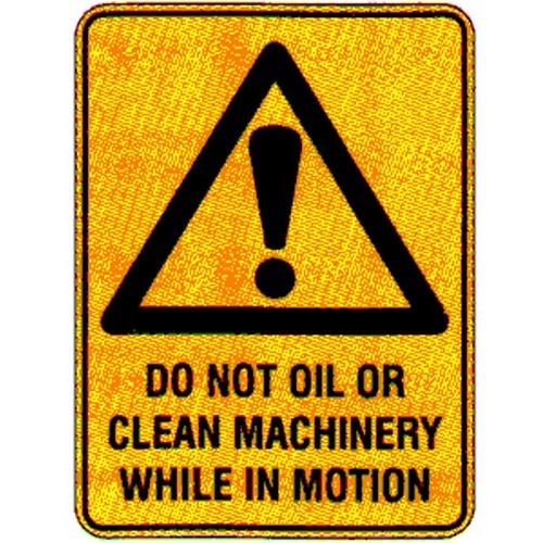 Warning Do Not IN Motion Labels