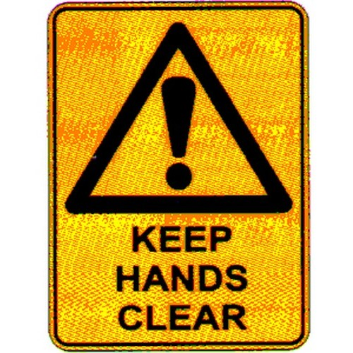 Warn Keep Hands Clear Labels