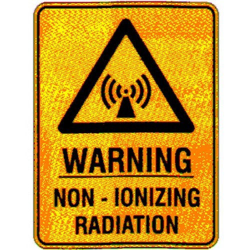 Warn NonIonizing Radiation Sign