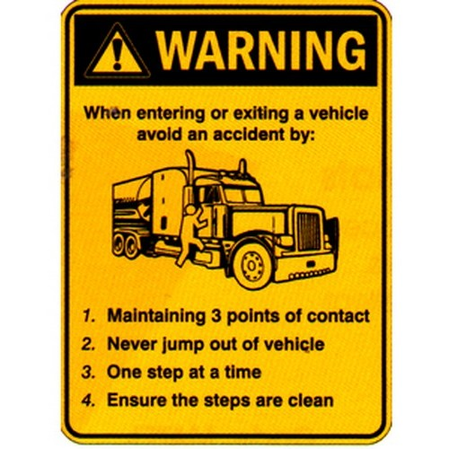 Warning When Vehicle Labels