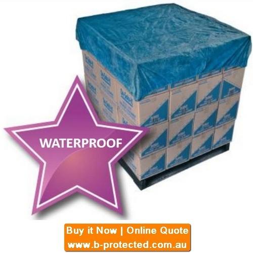 Waterproof pallet covers