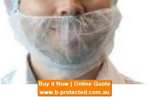 White beard cover