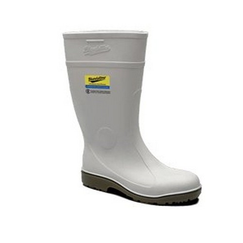White Food Industry Safety Gumboots
