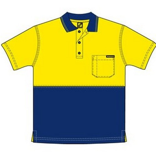 Workcraft Cotton Back Polo