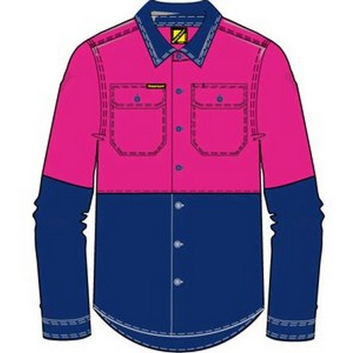 Workcraft Girls Hi Vis Shirt