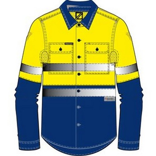 Workcraft Hi Vis 3m Shirt