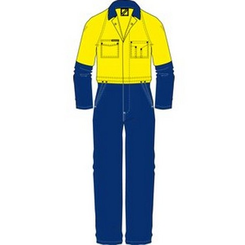 Workcraft Hi Vis Coveralls