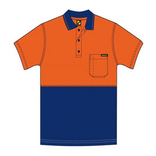 Workcraft Kids Hi Vis Polo
