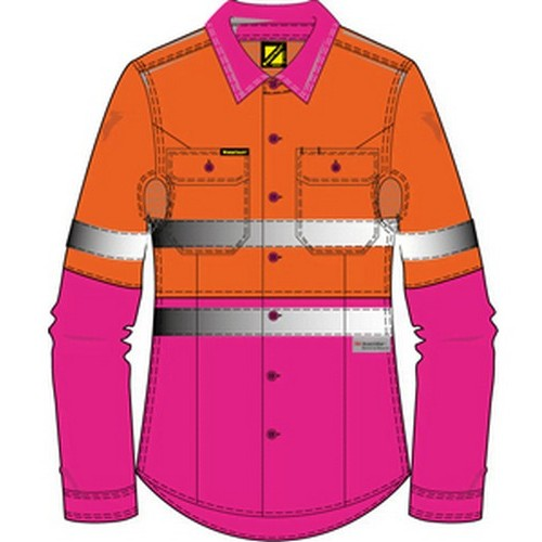 Workcraft Ladies 3m Shirt