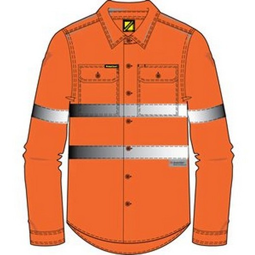 Workcraft Orange Shirt