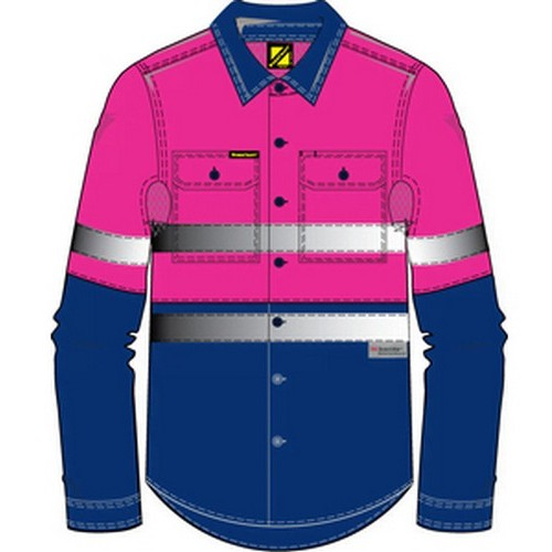 Workcraft Pink Work Shirt