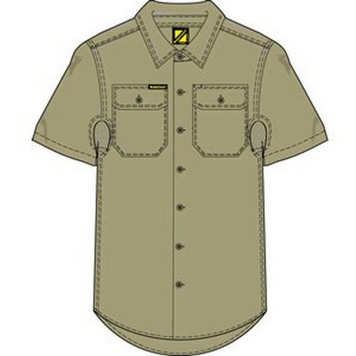 Workcraft Shirt With Vents