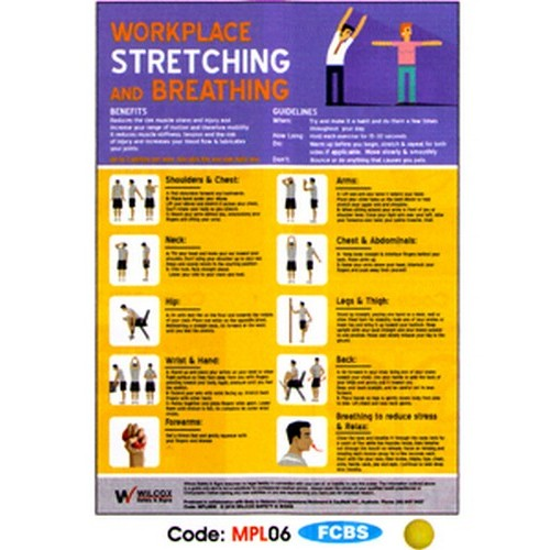 Workplace Strhing Poster