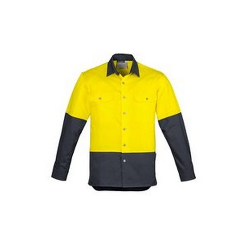 Yellow-Charcoal-Shirt