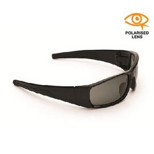 Black Polarised Safety Specs